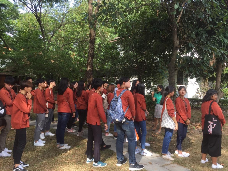 ให้การต้อนรับคณาจารย์และนักศึกษามหาวิทยาลัยขอนแก่น