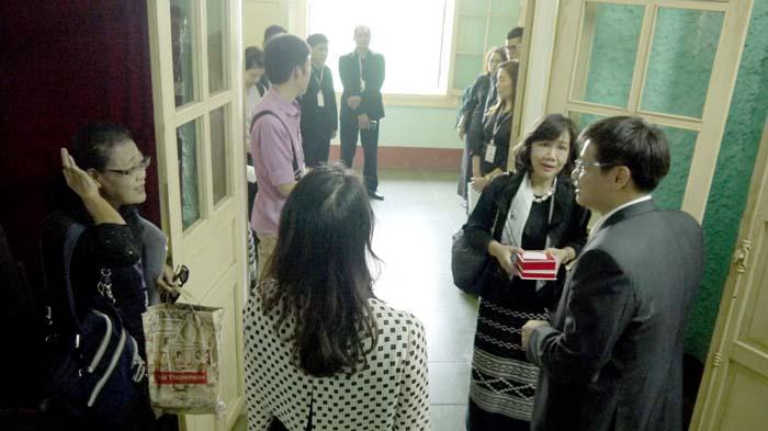 โครงการพัฒนาองค์กรด้านศิลปวัฒนธรรม (การประชุมสร้างเครือข่ายพิพิธภัณฑ์ด้านศิลปวัฒนธรรมกับประเทศเพื่อนบ้านในระดับนานาชาติ) สำนักส่งเสริมศิลปวัฒนธรรม มหาวิทยาลัยเชียงใหม่ ณ สาธารณรัฐสังคมนิยมเวียนาม