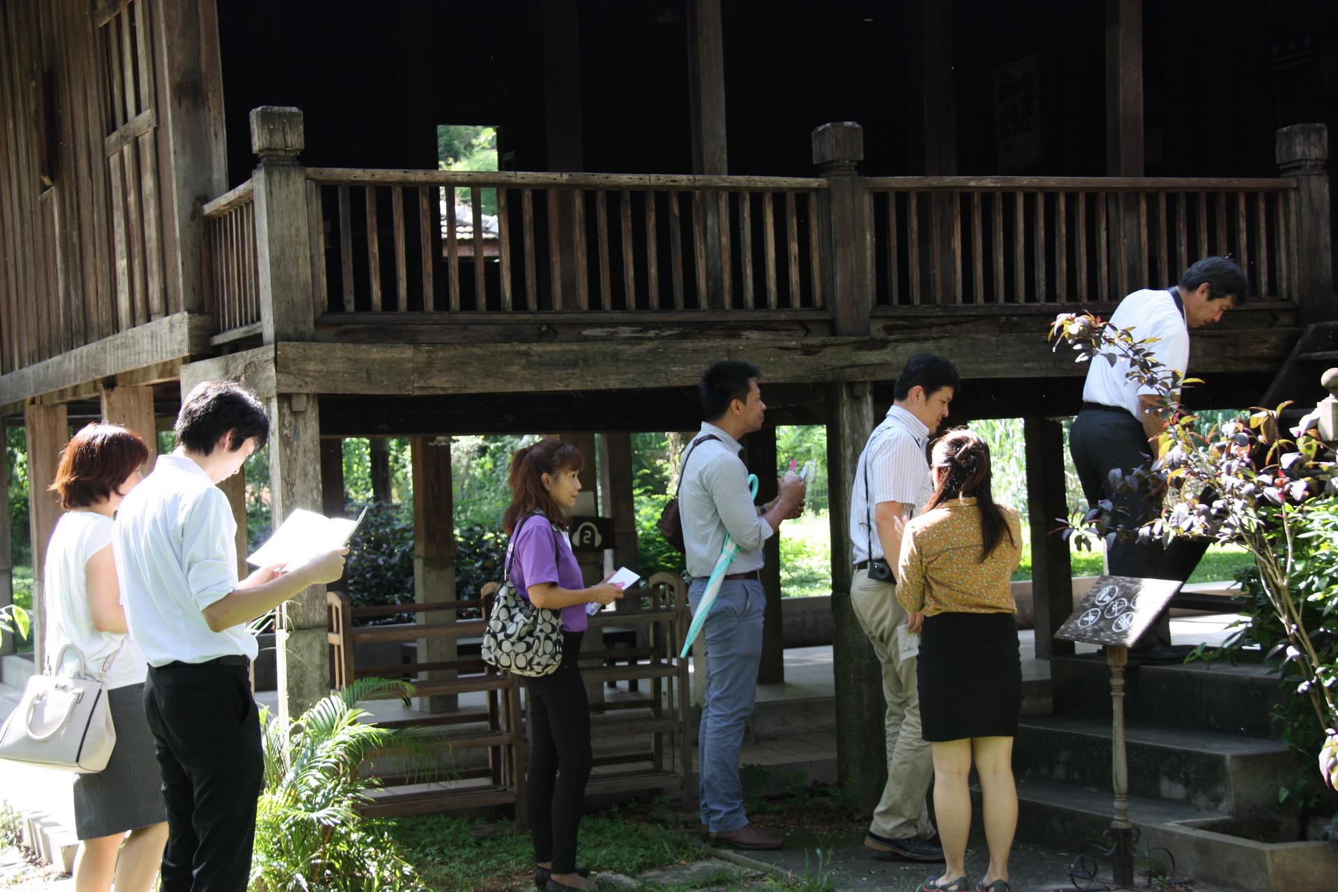 ให้การต้อนรับอาคันตุกะจาก Faculty of Agriculture Yamagata University