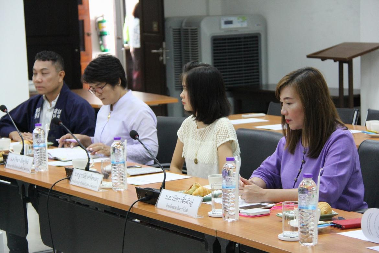 ให้การต้อนรับคณะกรรมการตรวจประเมินคุณภาพสำนักส่งเสริมศิลปวัฒนธรรม ตามแนวทางของเกณฑ์คุณภาพการศึกษา เพื่อการดำเนินการที่เป็นเลิศ มหาวิทยาลัยเชียงใหม่ (CMU EdPEx)