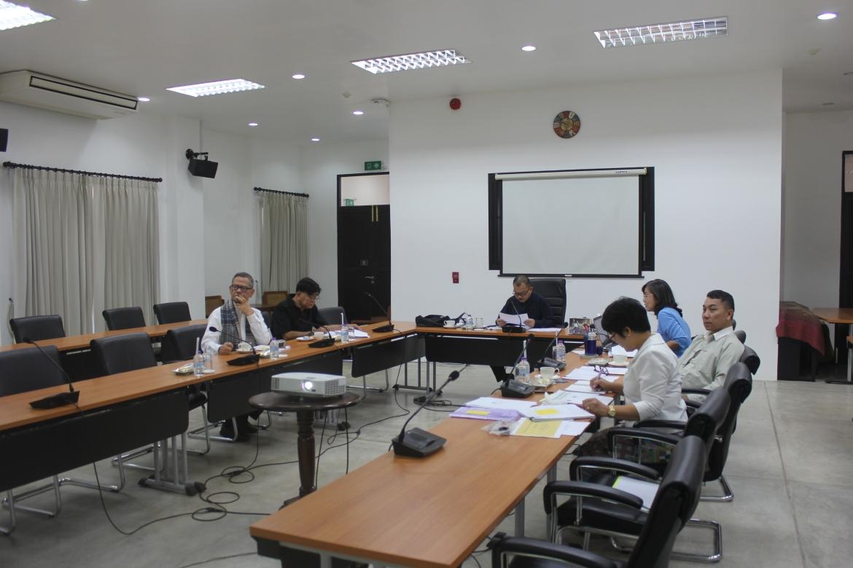 การประชุมคณะกรรมการอำนวยการประจำสำนักส่งเสริมศิลปวัฒนธรรม ครั้งที่ 4/2562