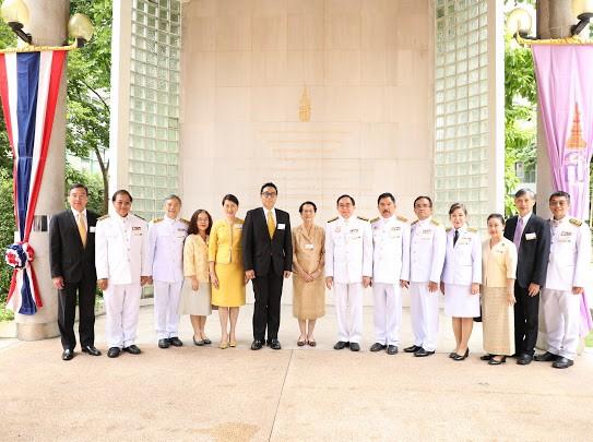 ผู้อำนวยการสำนักส่งเสริมศิลปวัฒนธรรม เฝ้าฯ รับเสด็จสมเด็จพระกนิษฐาธิราชเจ้า กรมสมเด็จพระเทพรัตนราชสุดาฯ สยามบรมราชกุมารี