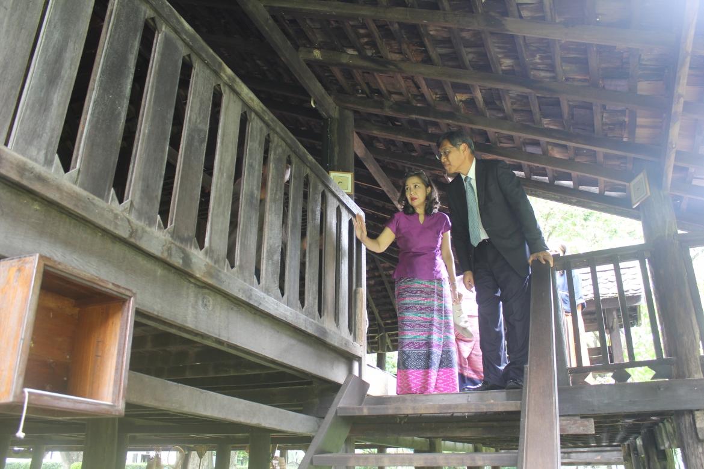 ต้อนรับนายฮิโรชิ มัทสึโมะโตะ กงสุลใหญ่ญี่ปุ่น ณ นครเชียงใหม่