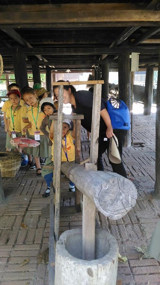 นักเรียนโรงเรียนปัญญาเด่นเข้าทัศนศึกษาพิพิธภัณฑ์เรือนโบราณล้านนา