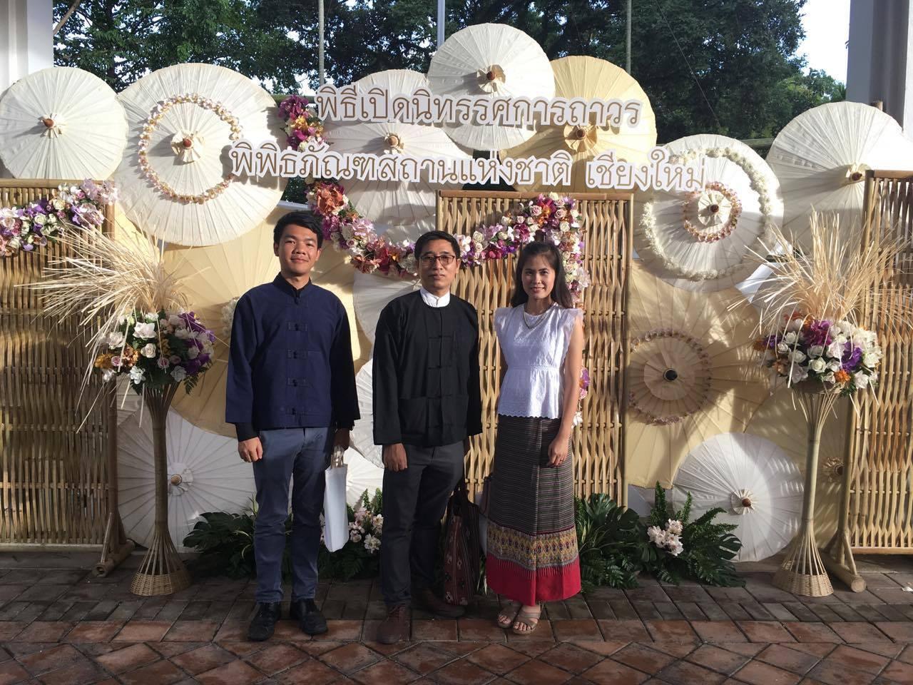 เข้าร่วมพิธีเปิดนิทรรศการถาวร พิพิธภัณฑสถานแห่งชาติเชียงใหม่ เมื่อวันที่ 14 มิถุนายน 2560